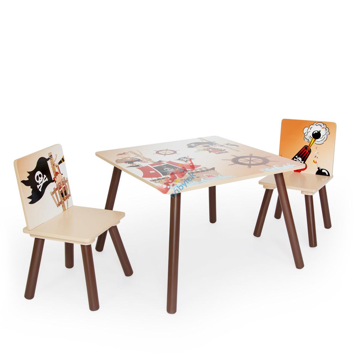 b41c8cc03bf4f Detský stôl so stoličkami - pirát - Stôl a stoličky - babynabytek.sk