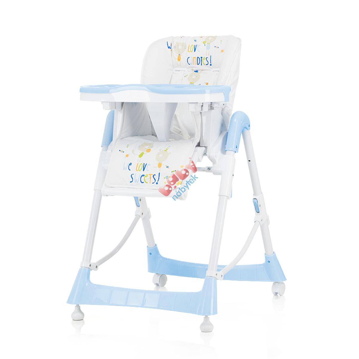 28881dcda737 CHIPOLINO detská jedálenská stolička Comfort Plus - Baby Blue ...