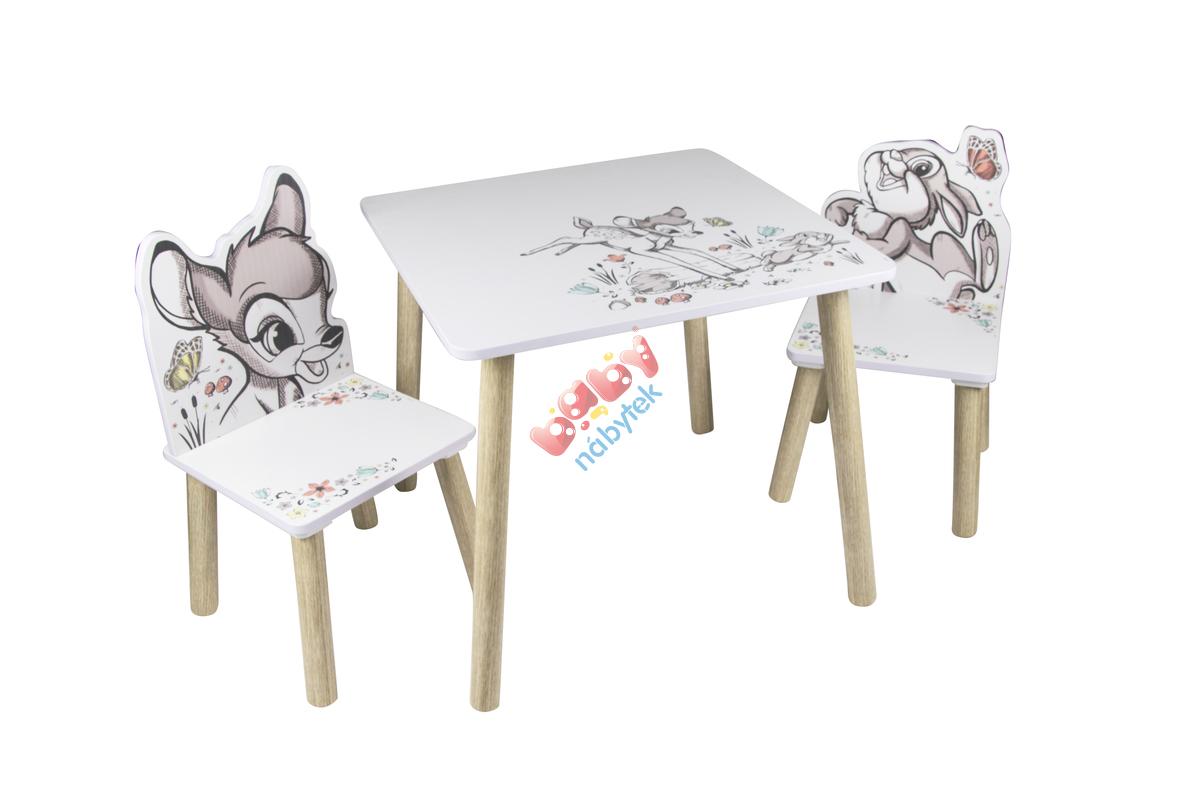 9908f265630a9 Detský stôl so stoličkami - Bambi - Stôl a stoličky - babynabytek.sk