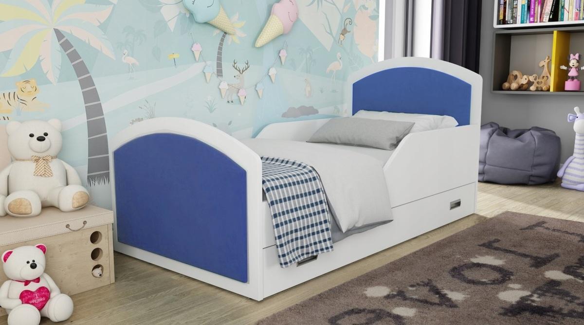 Detská posteľ Ourbaby Navy Blue 160x80 cm