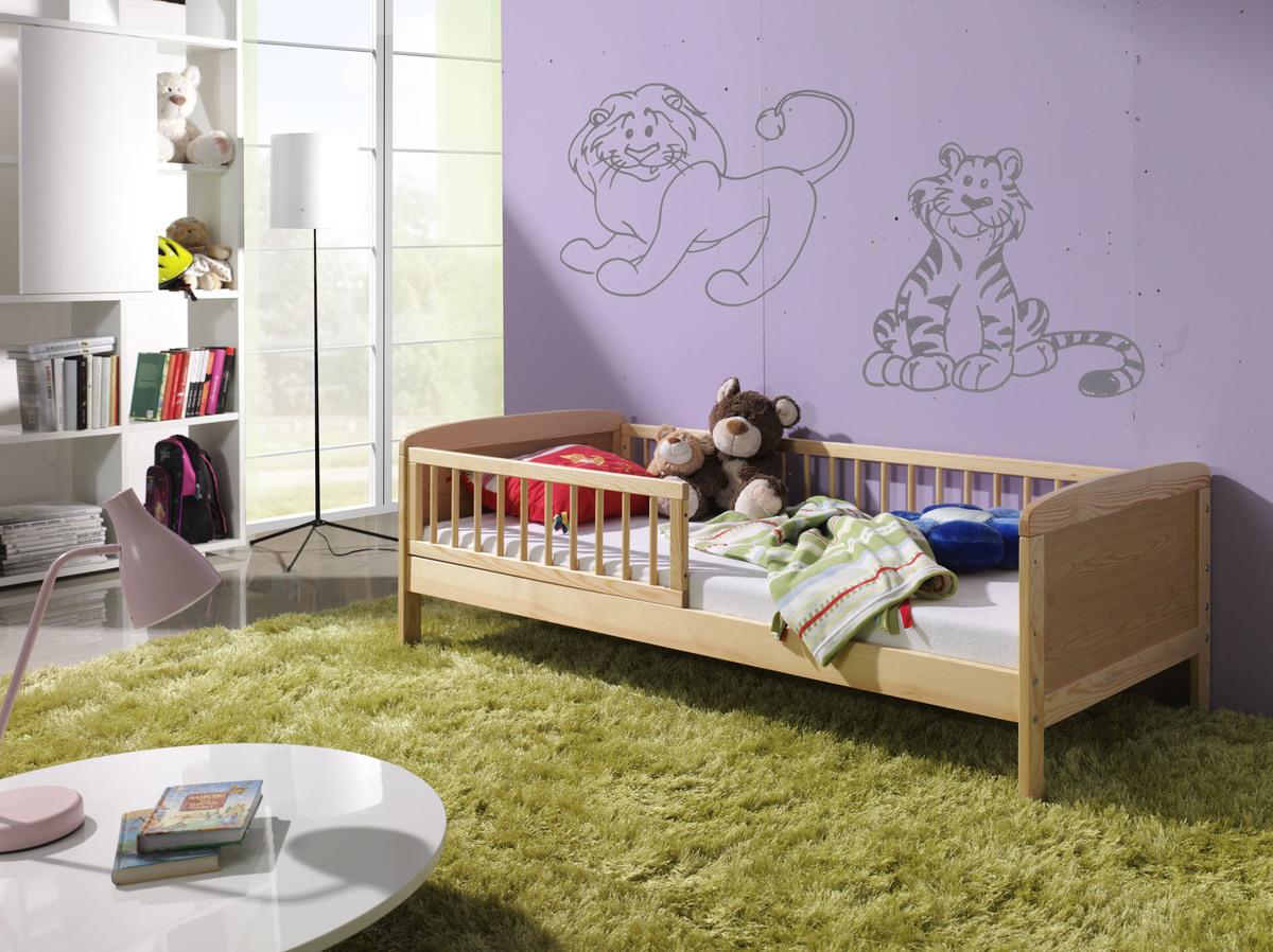 Detská posteľ Junior - 160x70 cm - prírodná 160x70cm