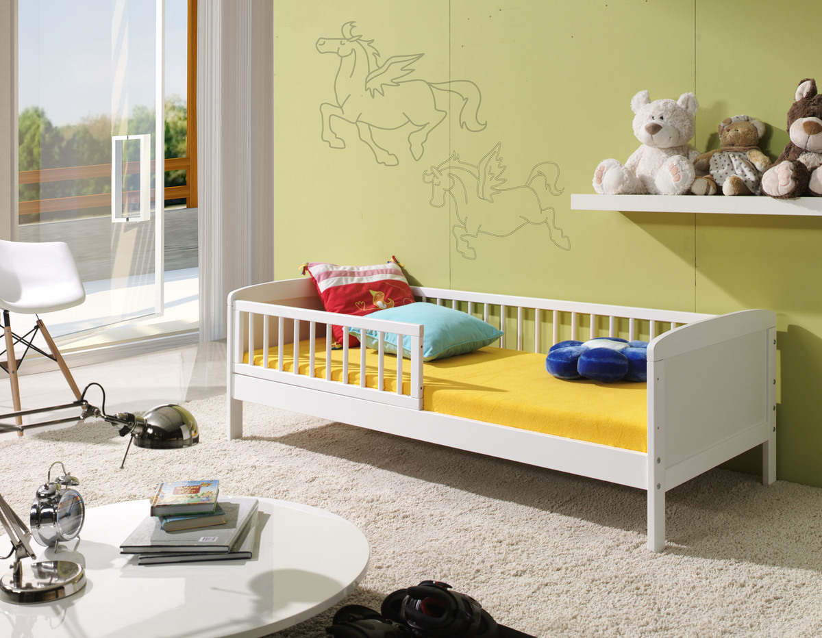 Detská posteľ Ourbaby Junior biela 160x70 cm