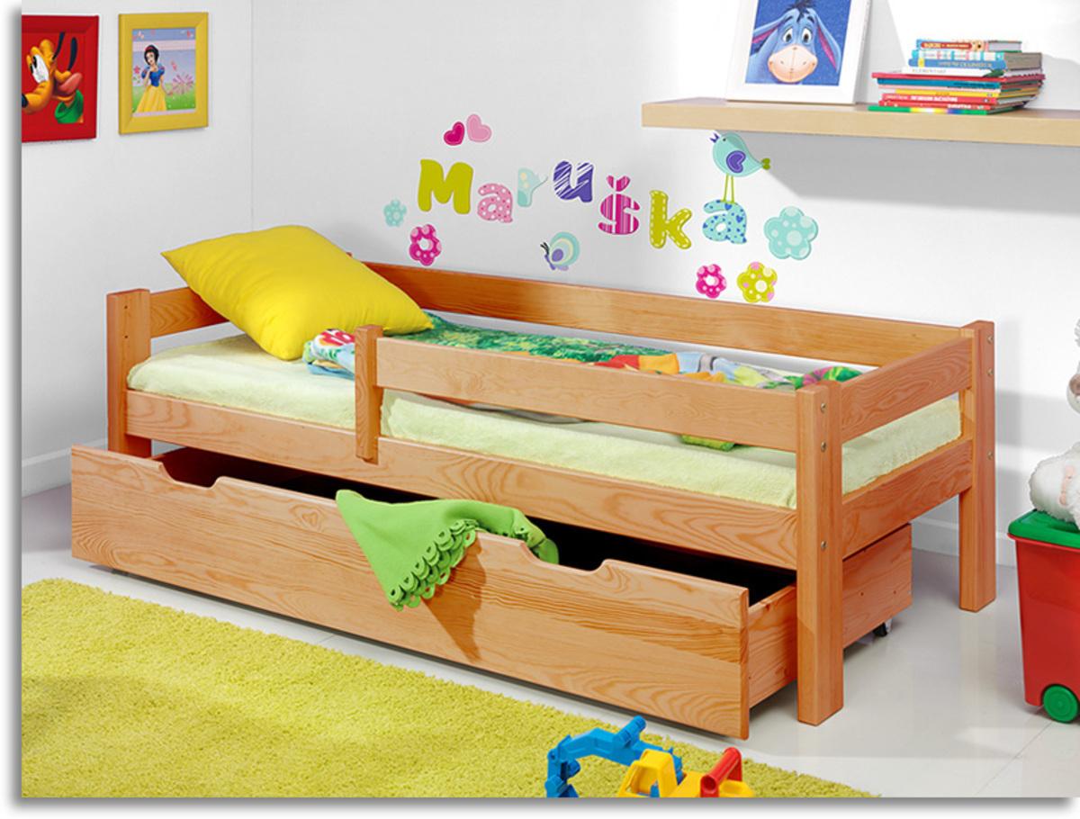 Detská posteľ Ourbaby Guardy Alder jelša 180x80 cm