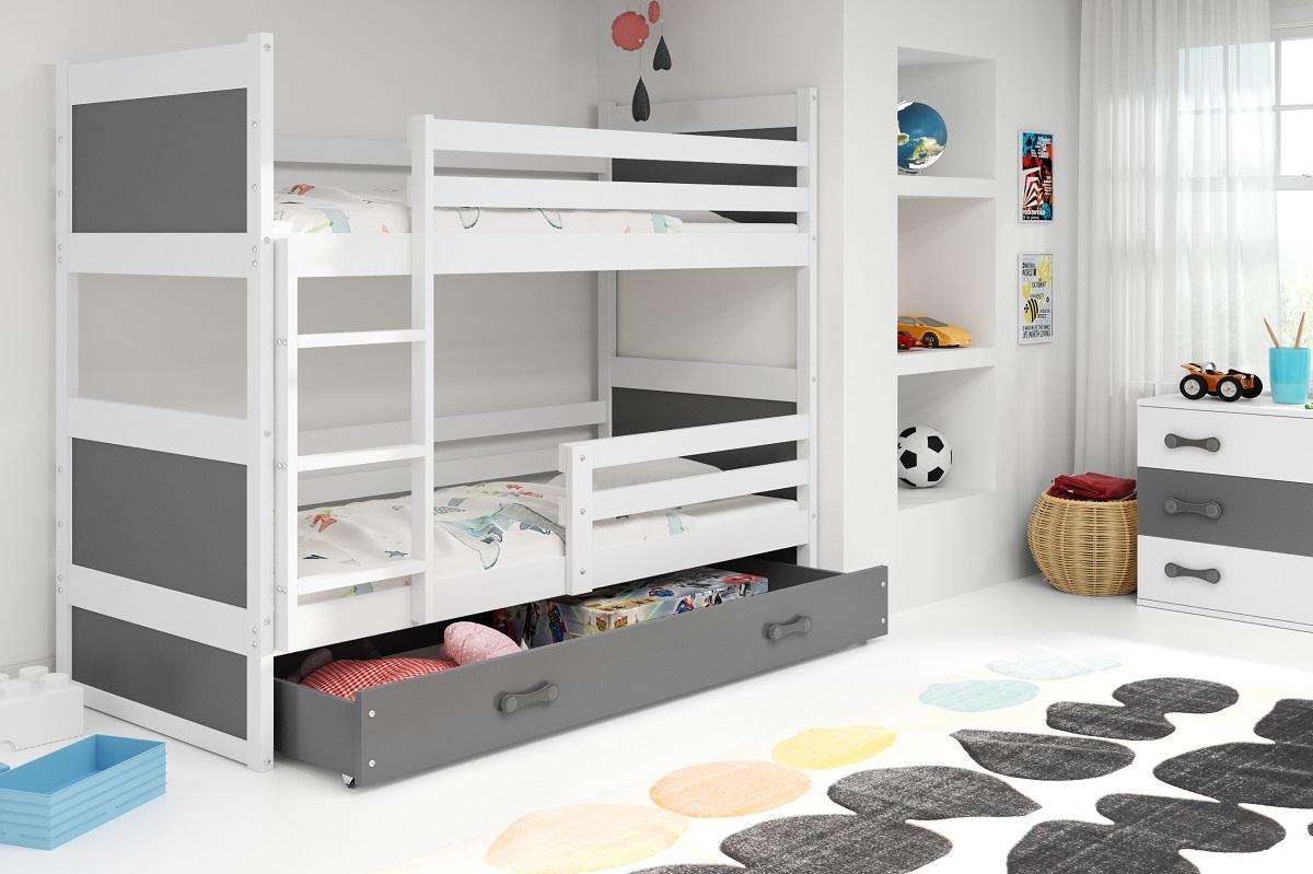 Detská posteľ Ourbaby Rocky biela 160x80 cm