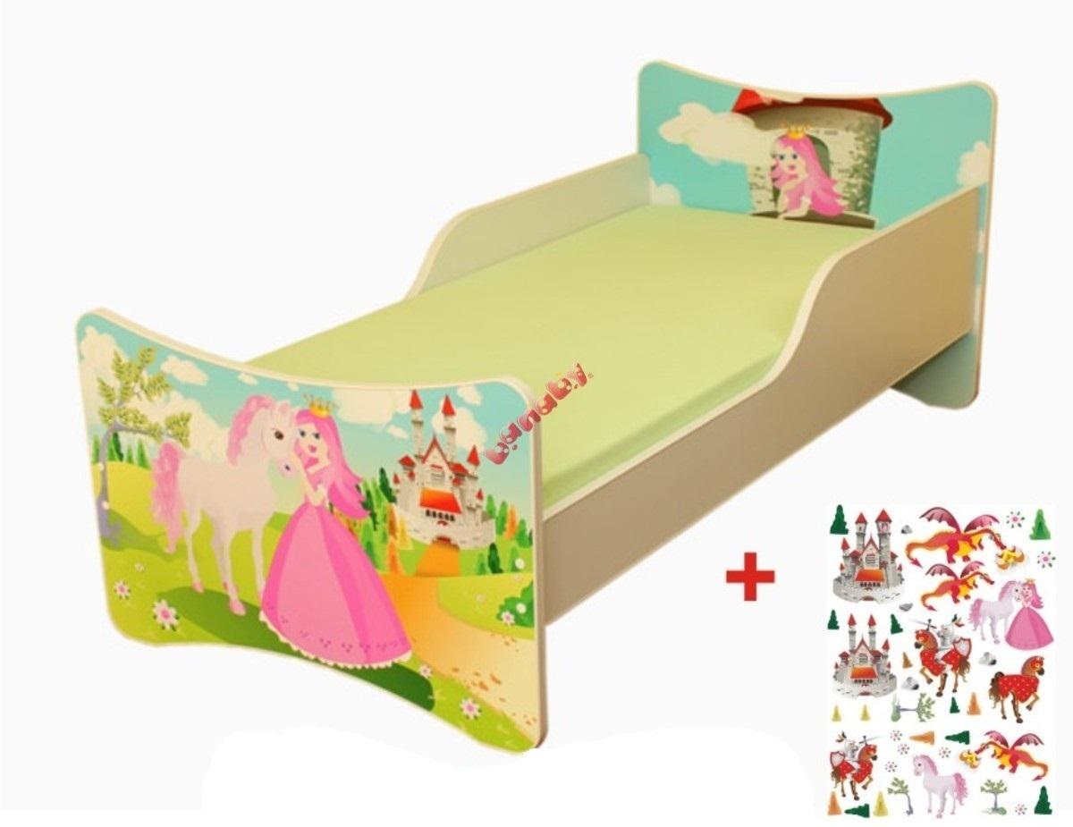 Detská posteľ Ourbaby Princess biela 140x70 cm