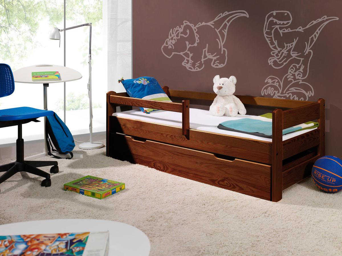 Detská posteľ Ourbaby Guardy Nut Tree orech 200x90 cm