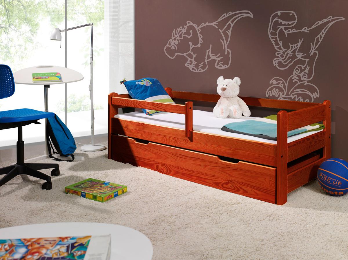 Detská posteľ so zábranou - čerešňa Guardy Cherry Tree 200x90 cm posteľ