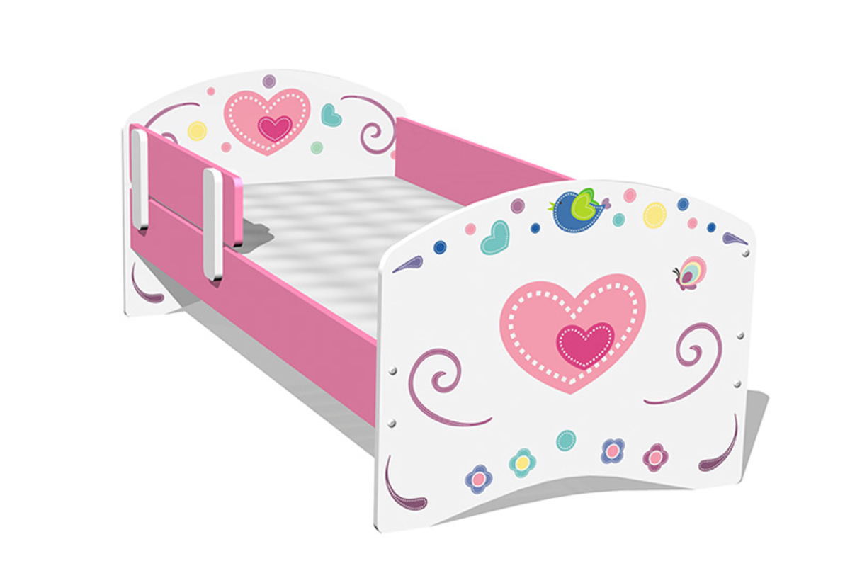 Detská posteľ - Sweet Flowers 160x70 cm posteľ