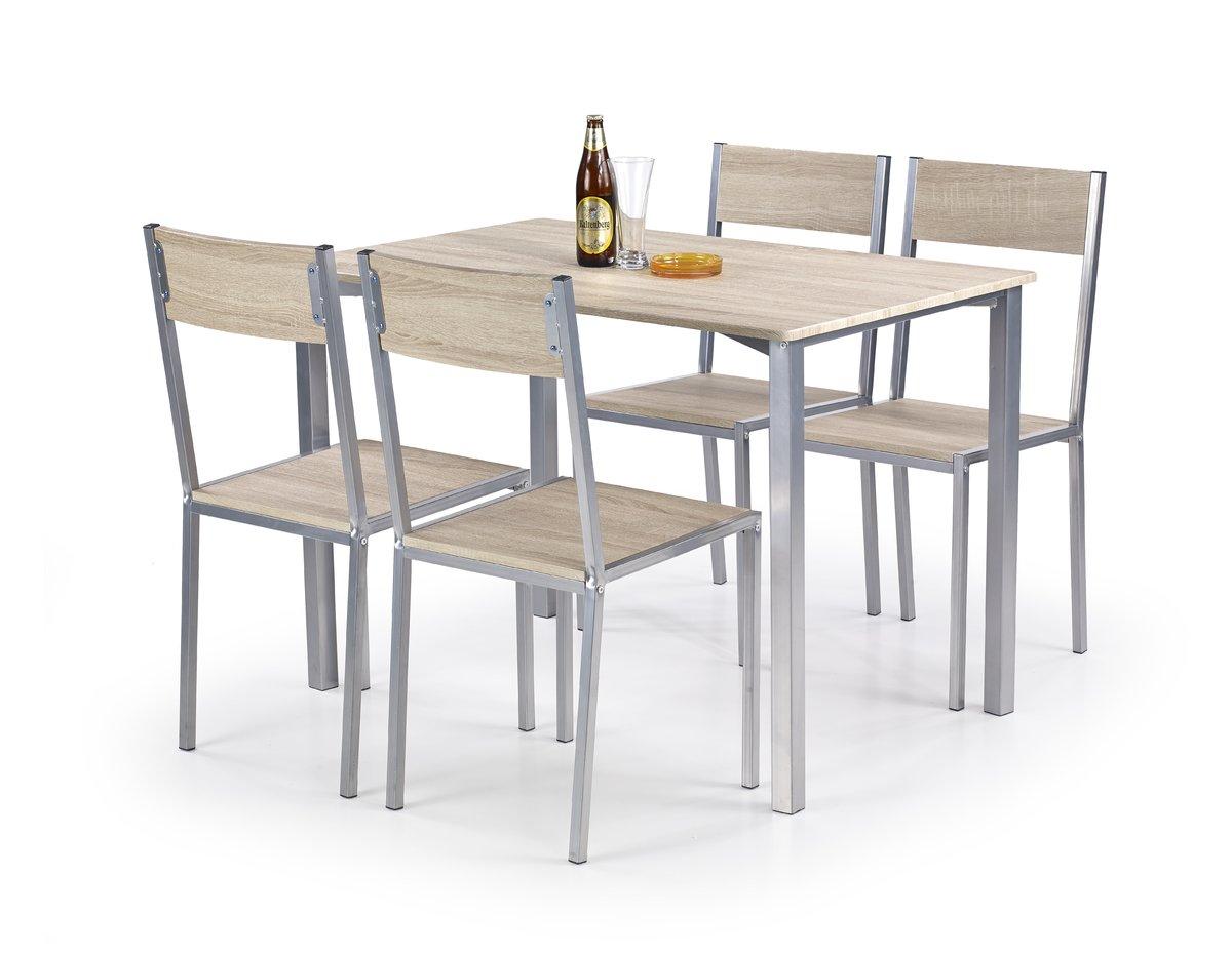 Jedálenský set 1+4 - Ralph stôl + 4 stoličky