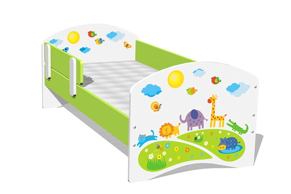 Detská posteľ - safari 160x70 cm
