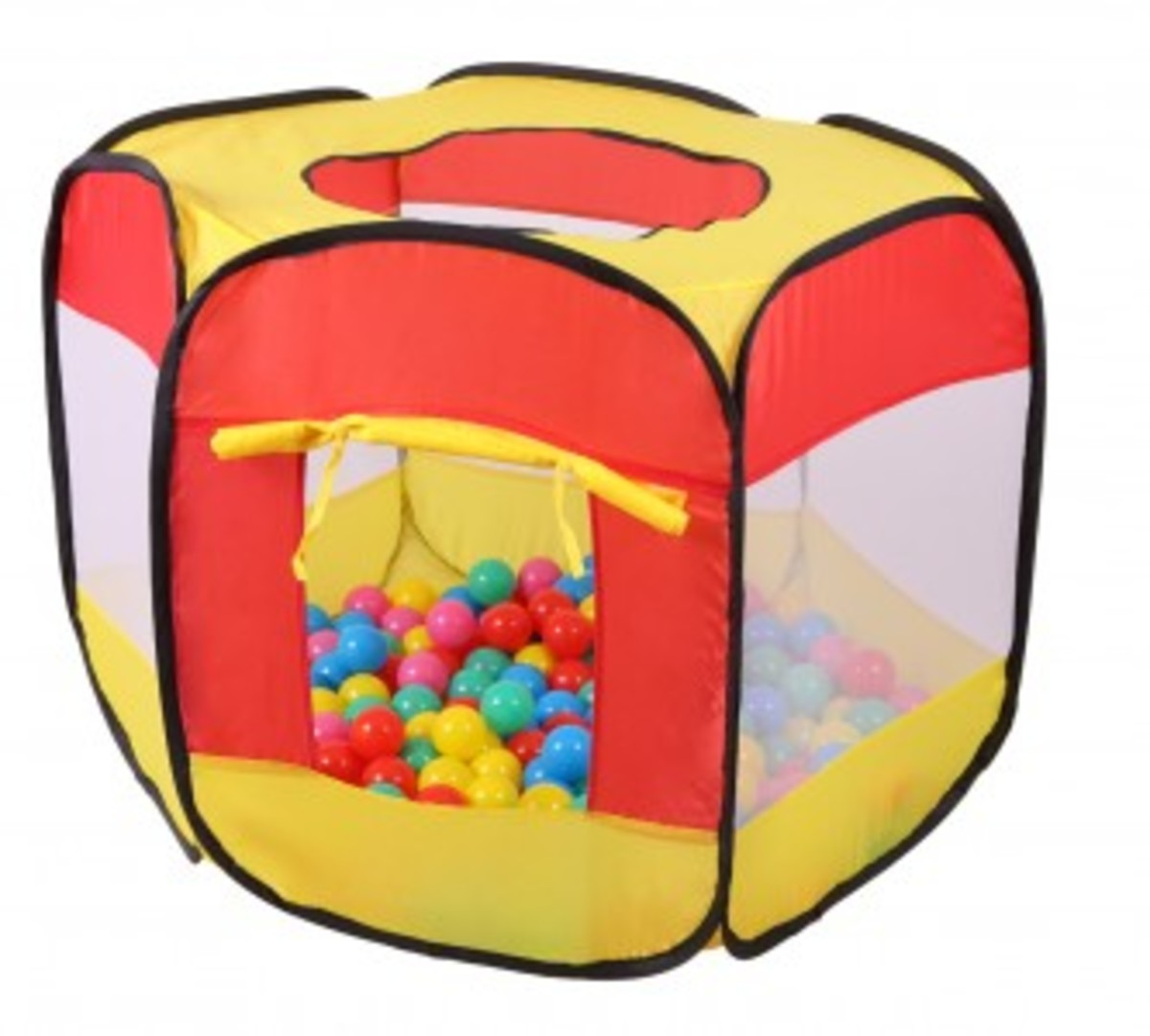 Detský stan - suchý bazén s guličkami
