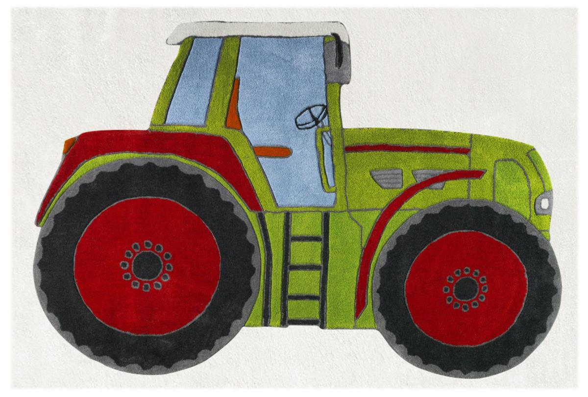 картинки трактора из бумаги родители