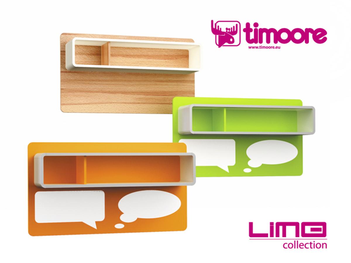 Magnetický panel LiMO oranžová
