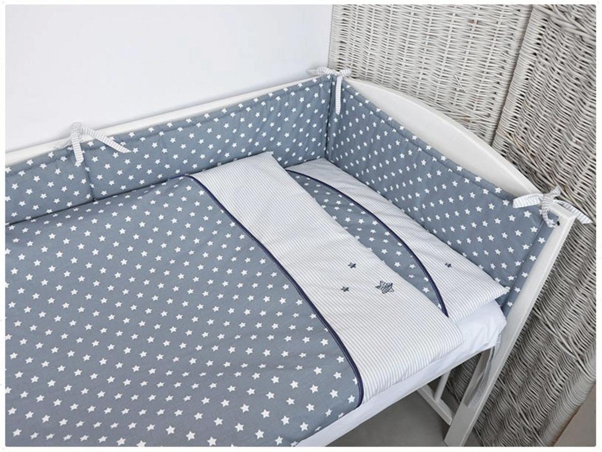 Detské 2-dielne obliečky - hviezdičky 120x90 cm
