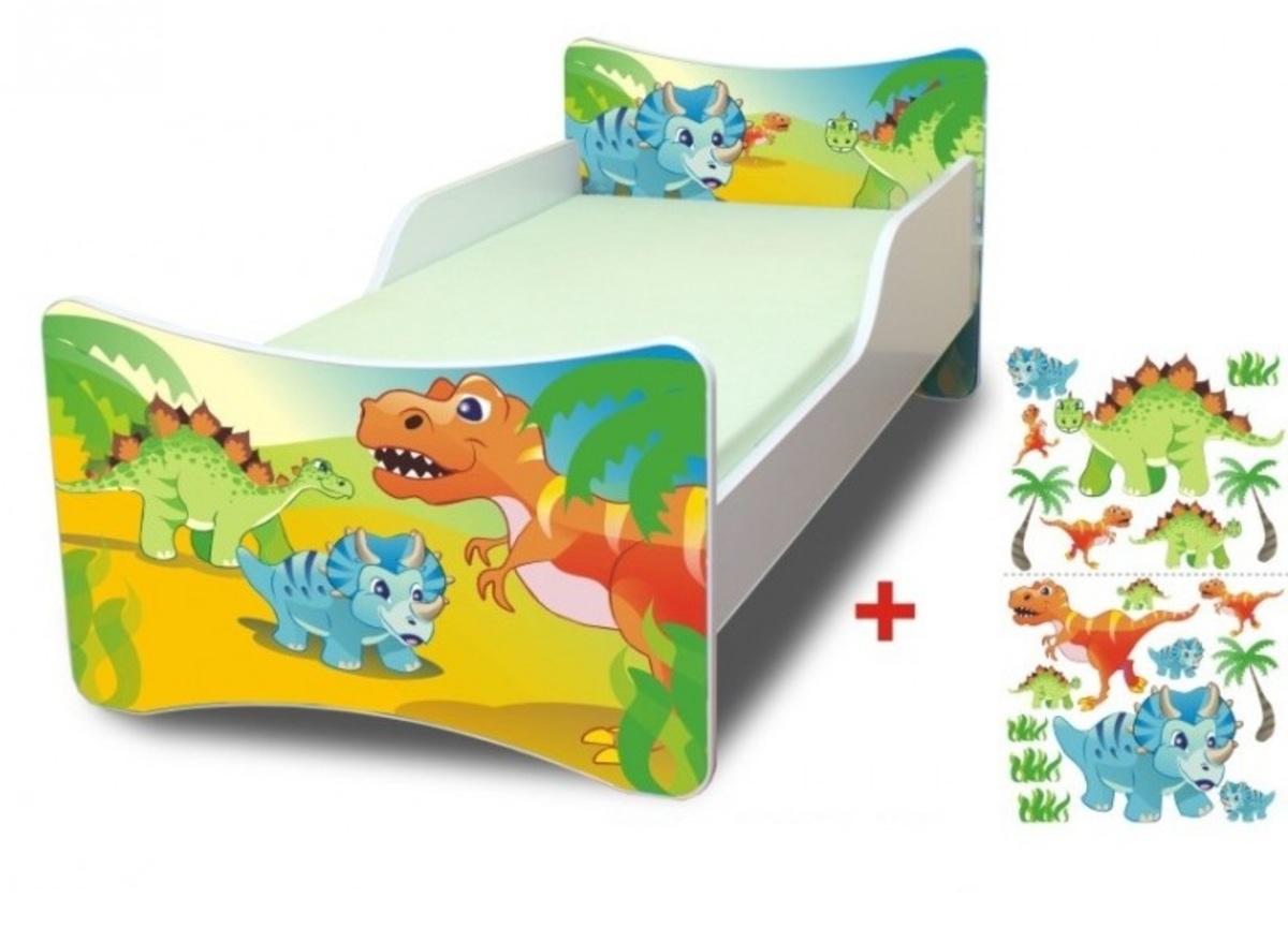 Detská posteľ Ourbaby Dino biela 140x70 cm