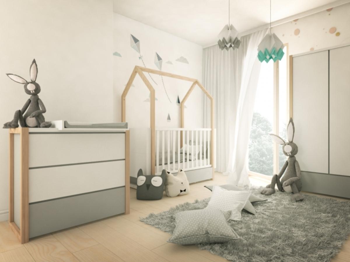 Detská izba PINETTE komoda