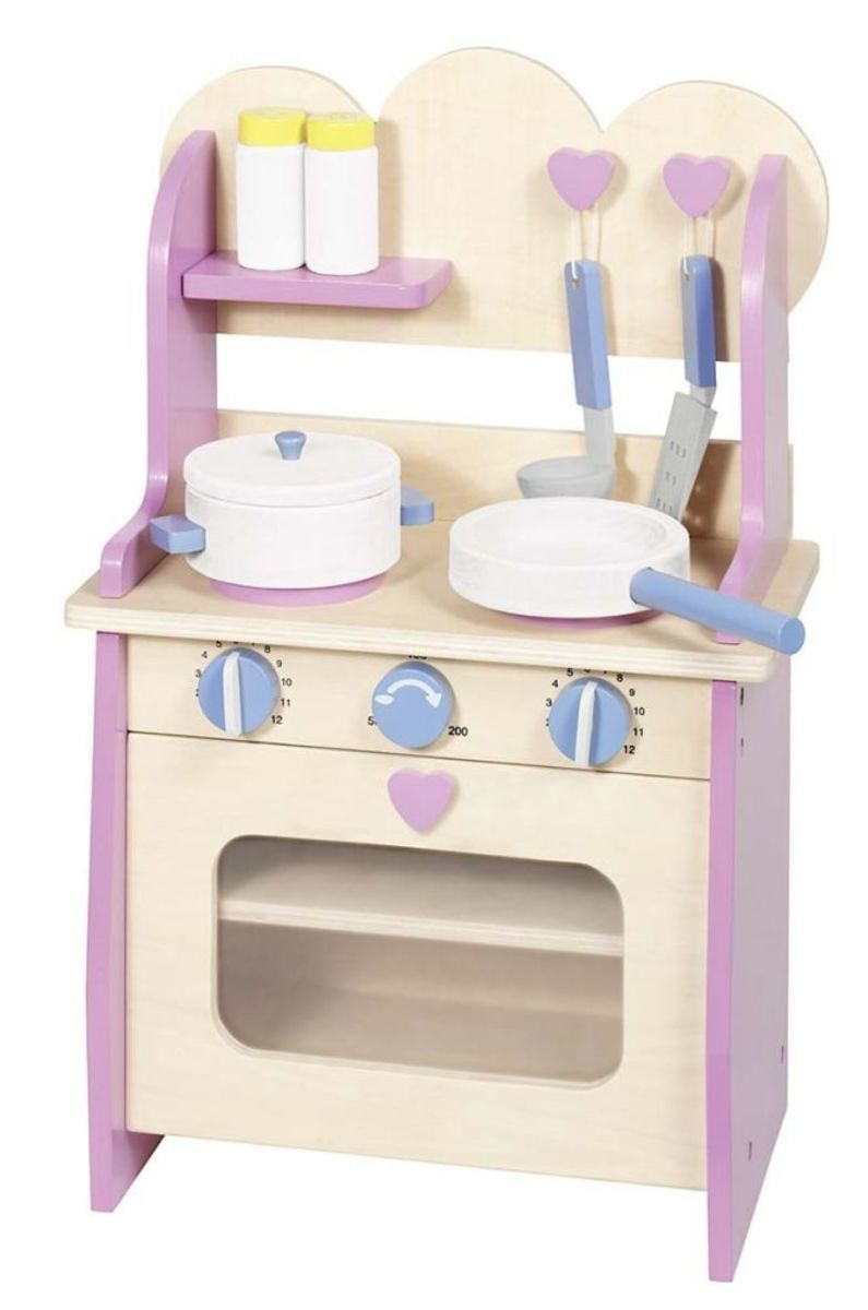 Detská drevená kuchynka