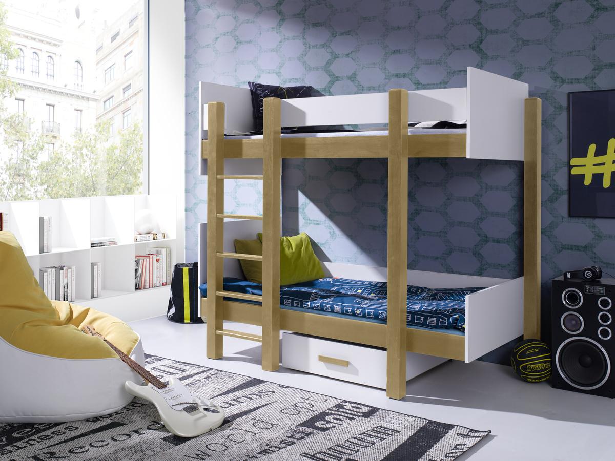 Detská posteľ Ourbaby Zora biela 200x90 cm