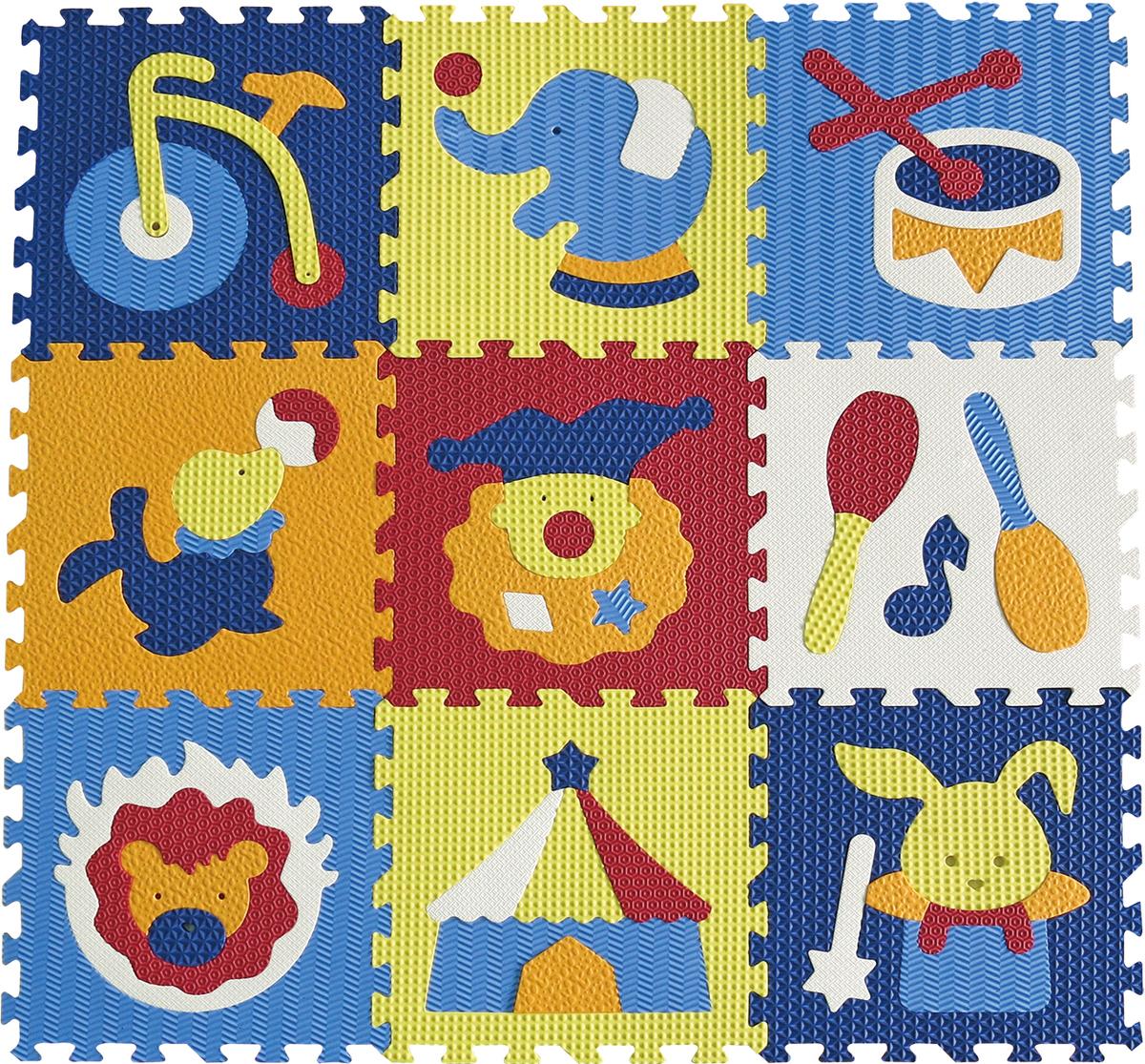 Penové puzzle - cirkus