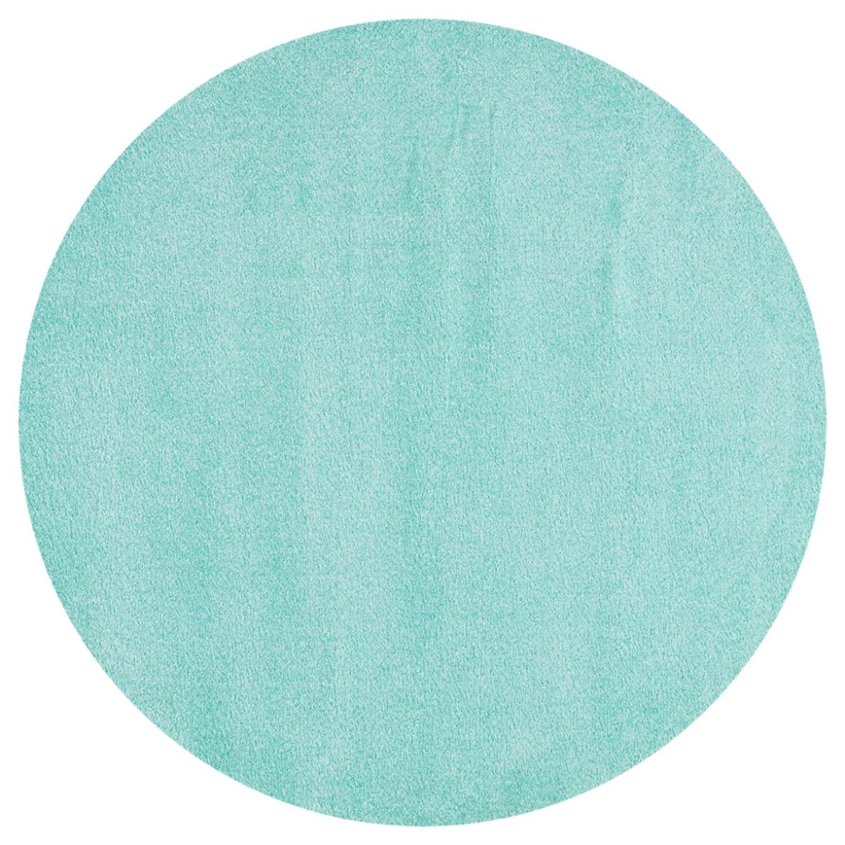 Detský okrúhly koberec - mätový priemer 133 cm