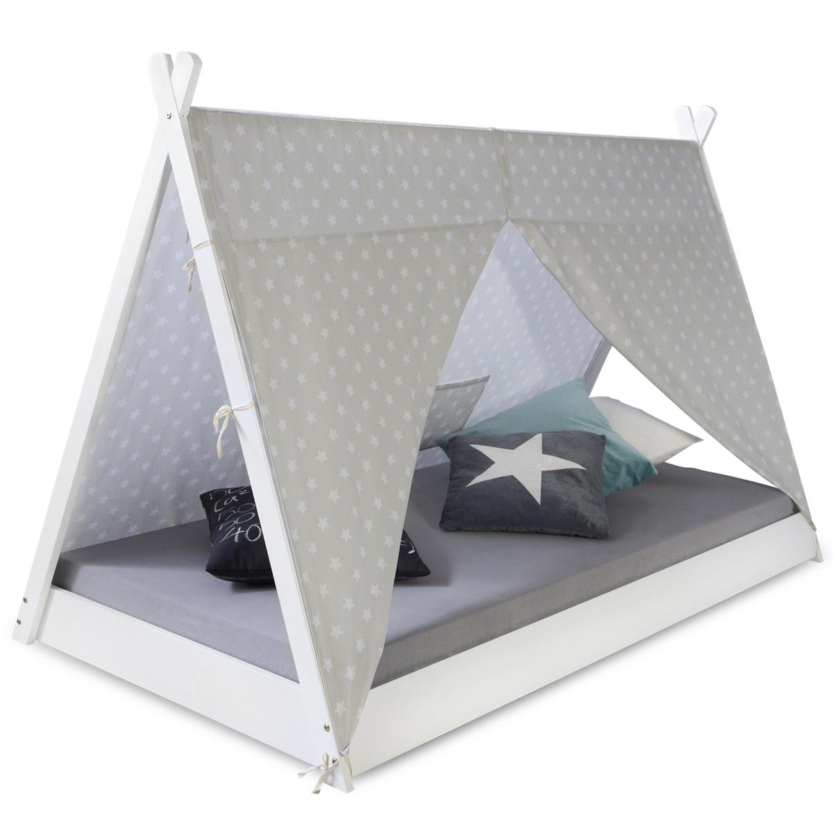 Detská posteľ Ourbaby Teepee biela 200x90 cm