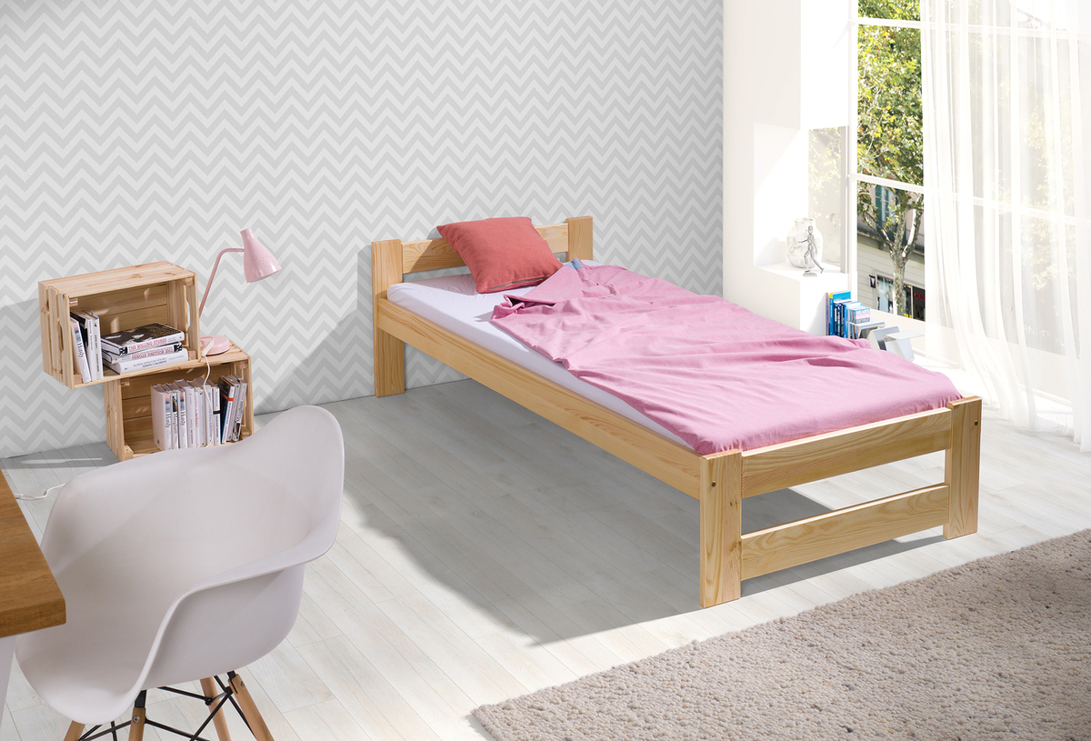 Detská posteľ Ourbaby Marek prírodná 200x90 cm