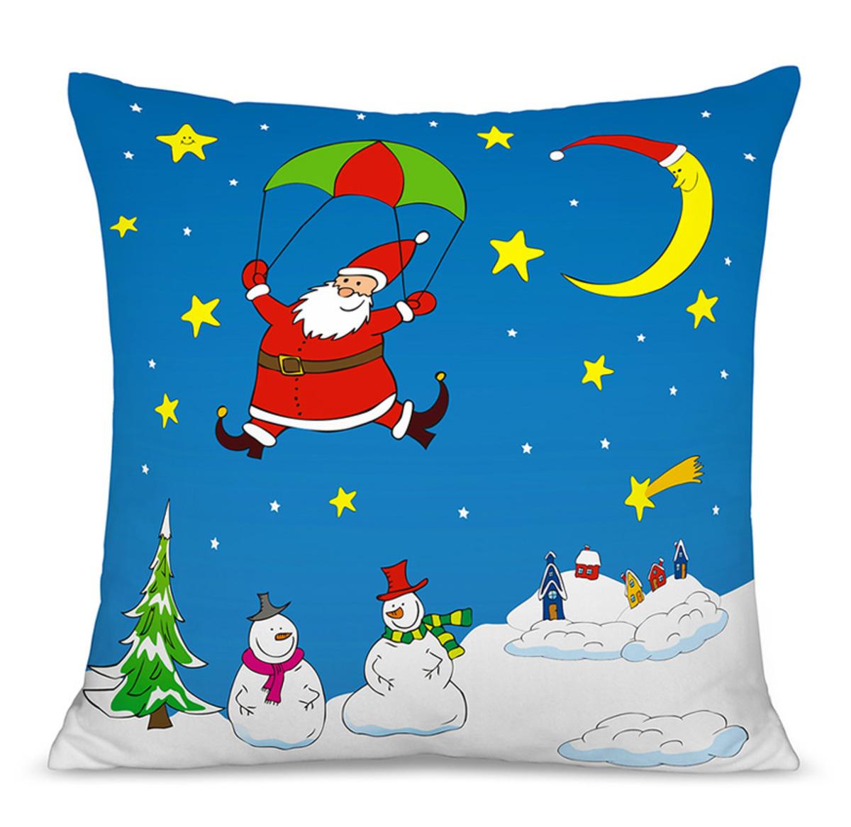Vianočný detský vankúš 03 40x40 cm poťah + výplň
