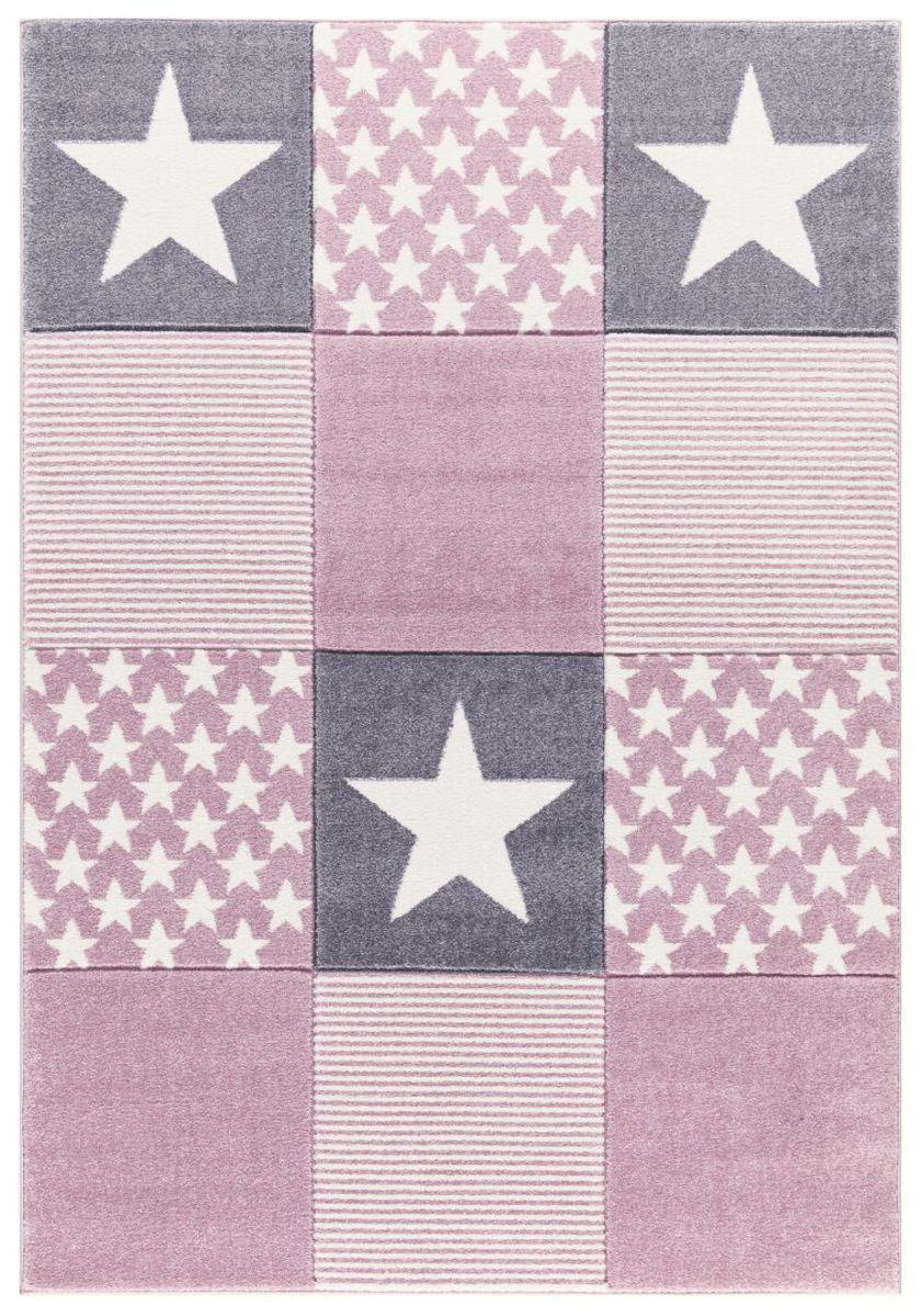Detský koberec STARWALK - ružový 120 x 180 cm