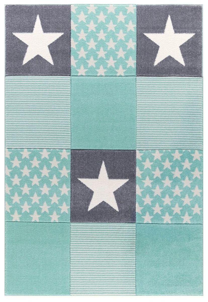 Detský koberec STARWALK - mätový 160 x 230 cm