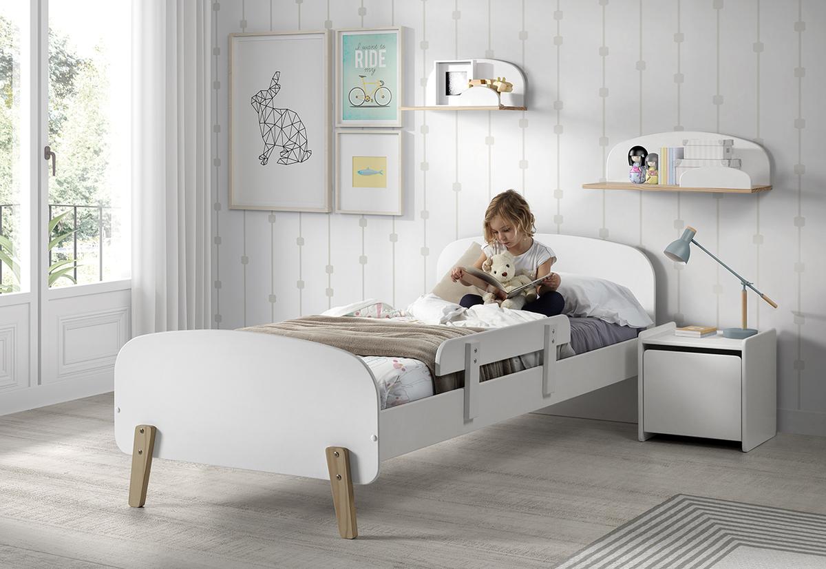 Detská posteľ KIDDY- biela posteľ