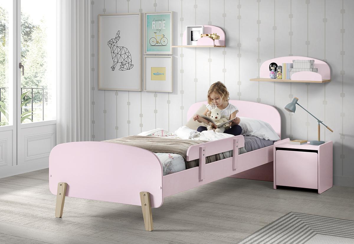 Detská posteľ KIDDY - ružová posteľ