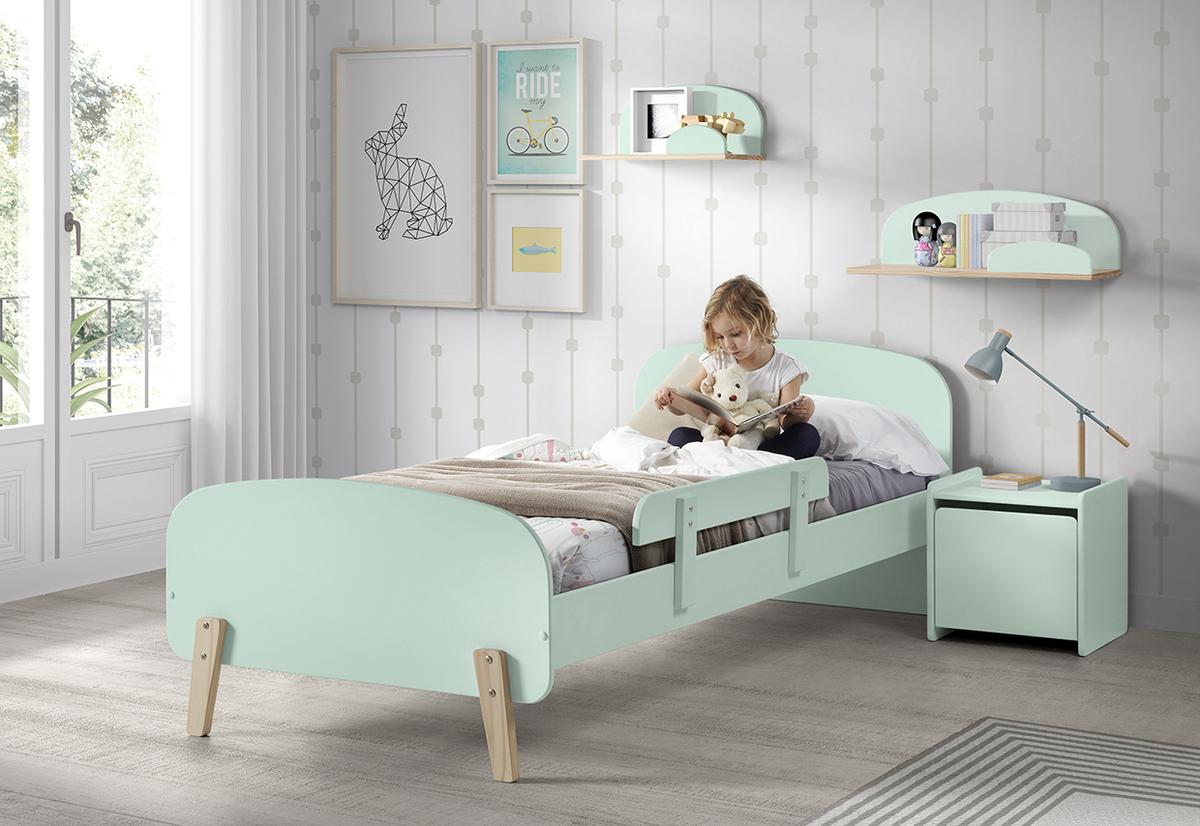 Detská posteľ KIDDY - mätová posteľ