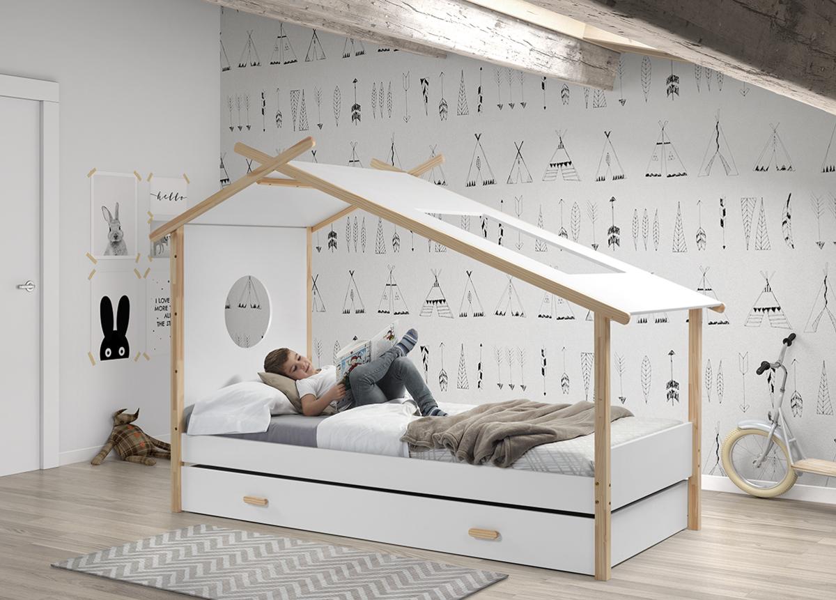 Detská posteľ domček COCOON Coccon posteľ bez úložného priestoru