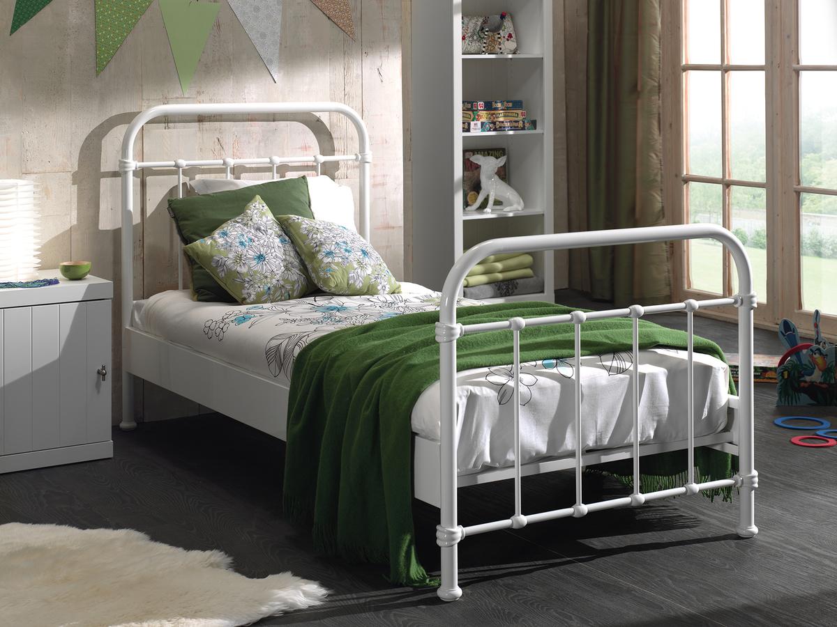 Detská posteľ VIPACK FURNITURE New York biela 200x90 cm