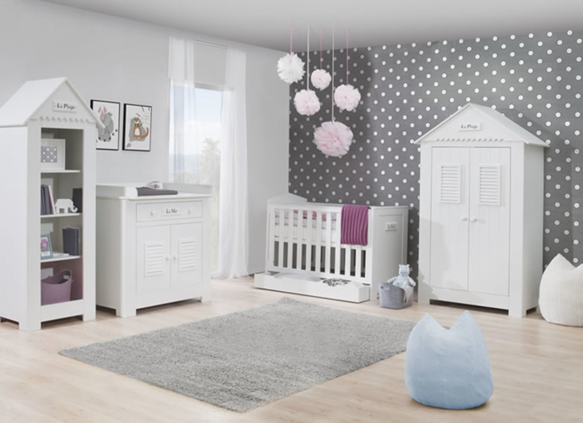 Detská izba MARSYLIA postieľka 120 x 60 cm