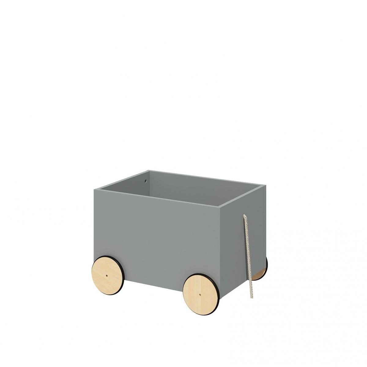 Úložný box na kolieskach LOTTI GREY