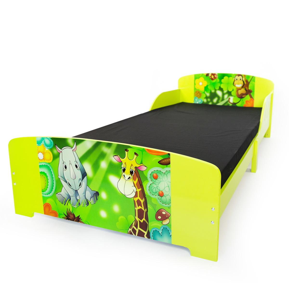 Detská drevená posteľ JUNGLE 200x90 cm