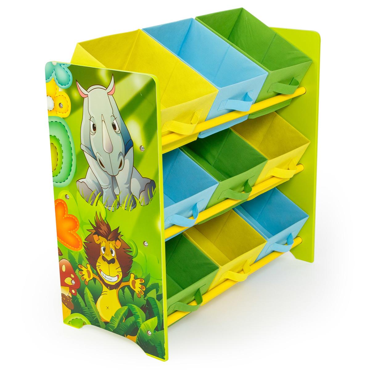 Detský organizér na hračky JUNGLE
