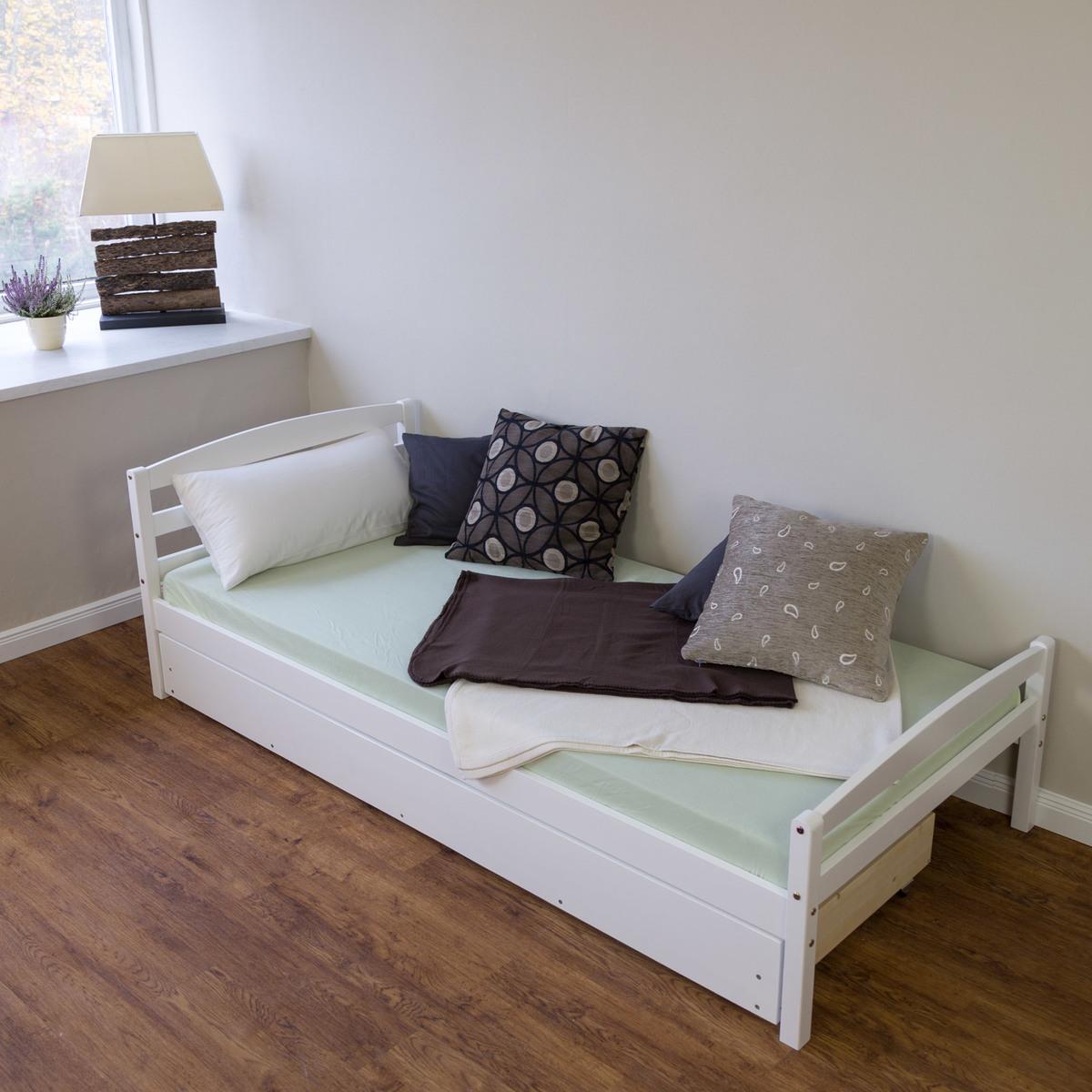 Detská posteľ Ourbaby Snowflake biela 200x90 cm
