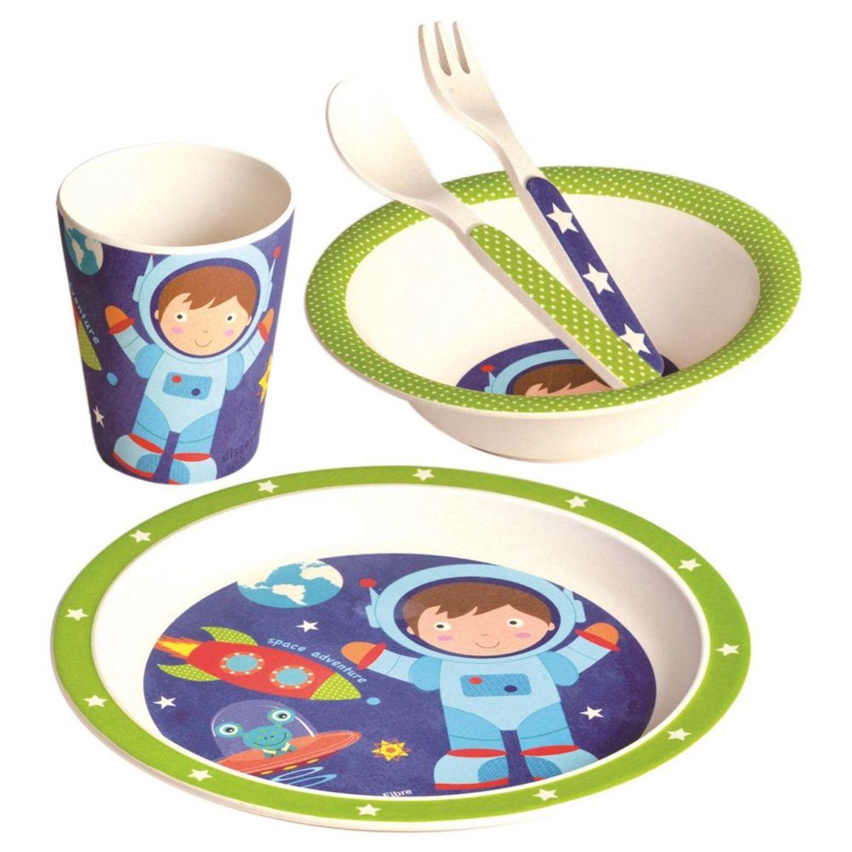 Detský jedálenský set Astronaut