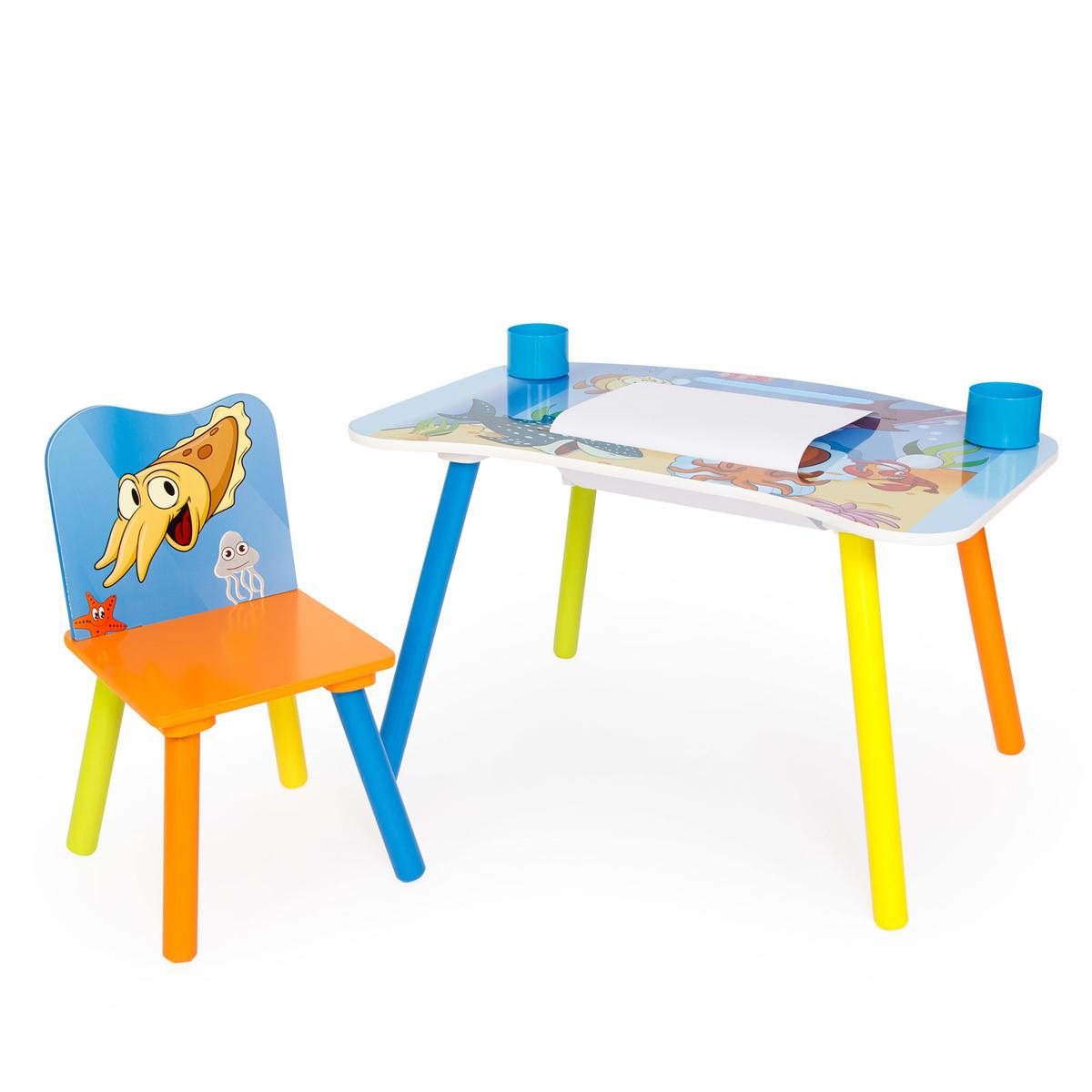 Detský kresliaci stôl Sea