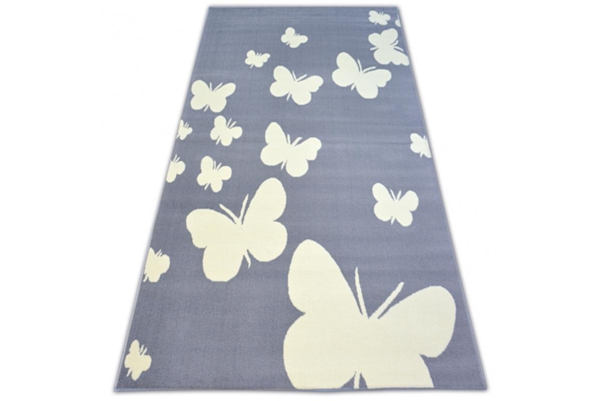 Detský koberec Motýliky 120 x 160 cm