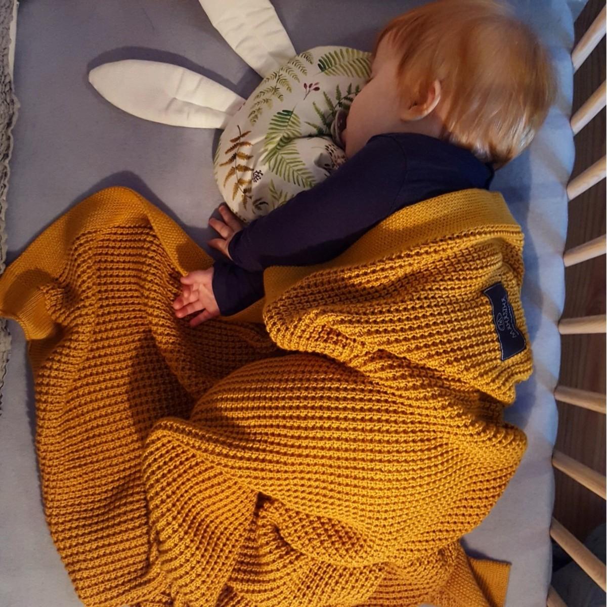 Detská deka bambus / bavlna - rôzne farby modrá