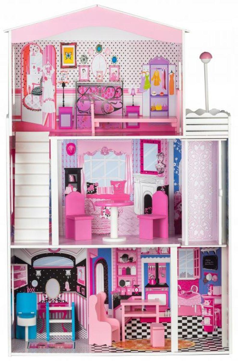 Drevený domček pre bábiky Miami