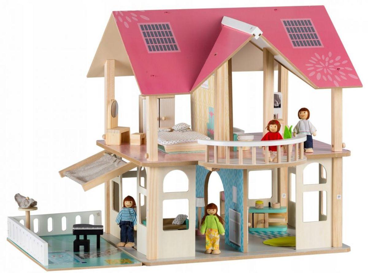Drevený domček pre bábiky Modern