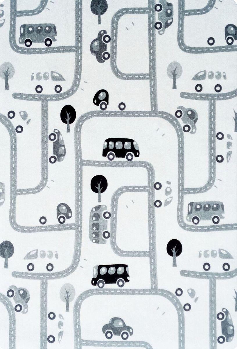 Detský koberec milujeme hru - čierno-biely 90x130 cm