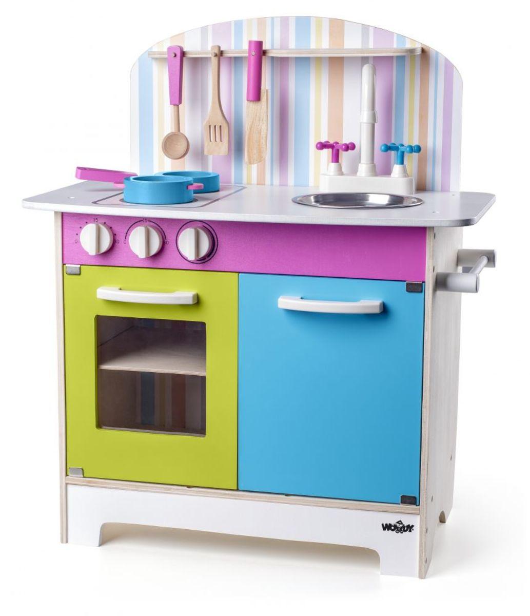 Detská drevená kuchynka Julie