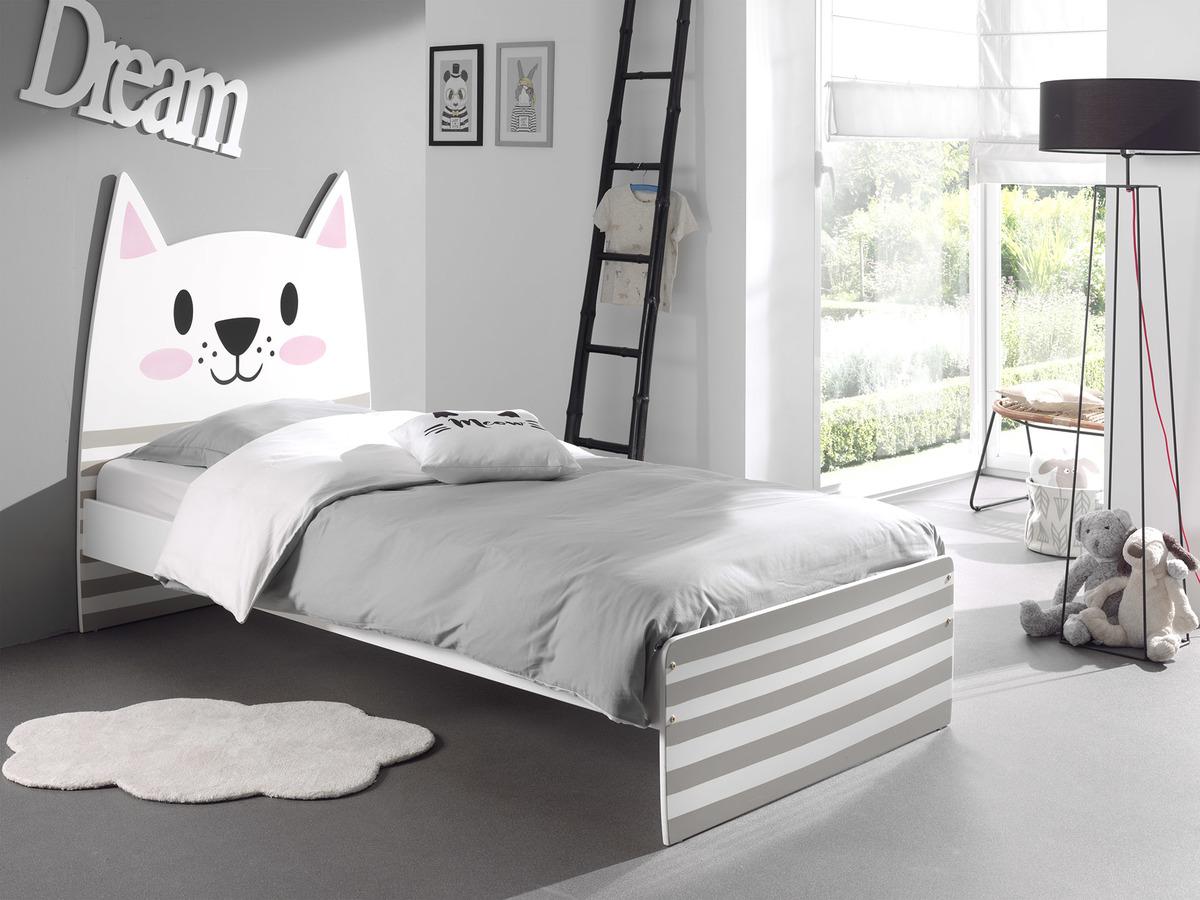 Detská posteľ Cat posteľ bez úložného priestoru