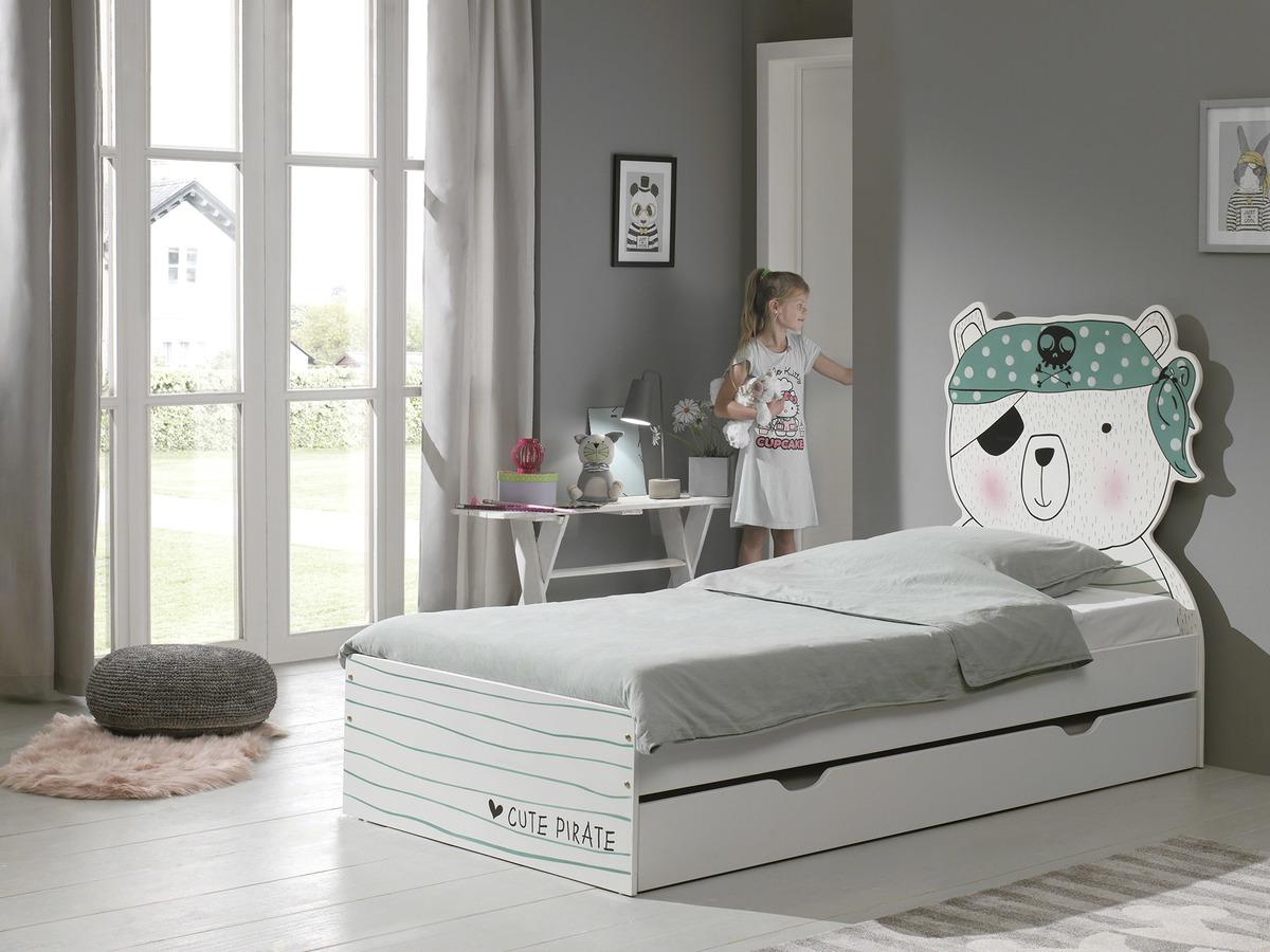 Detská posteľ Pirát Pirate posteľ bez úložného priestoru