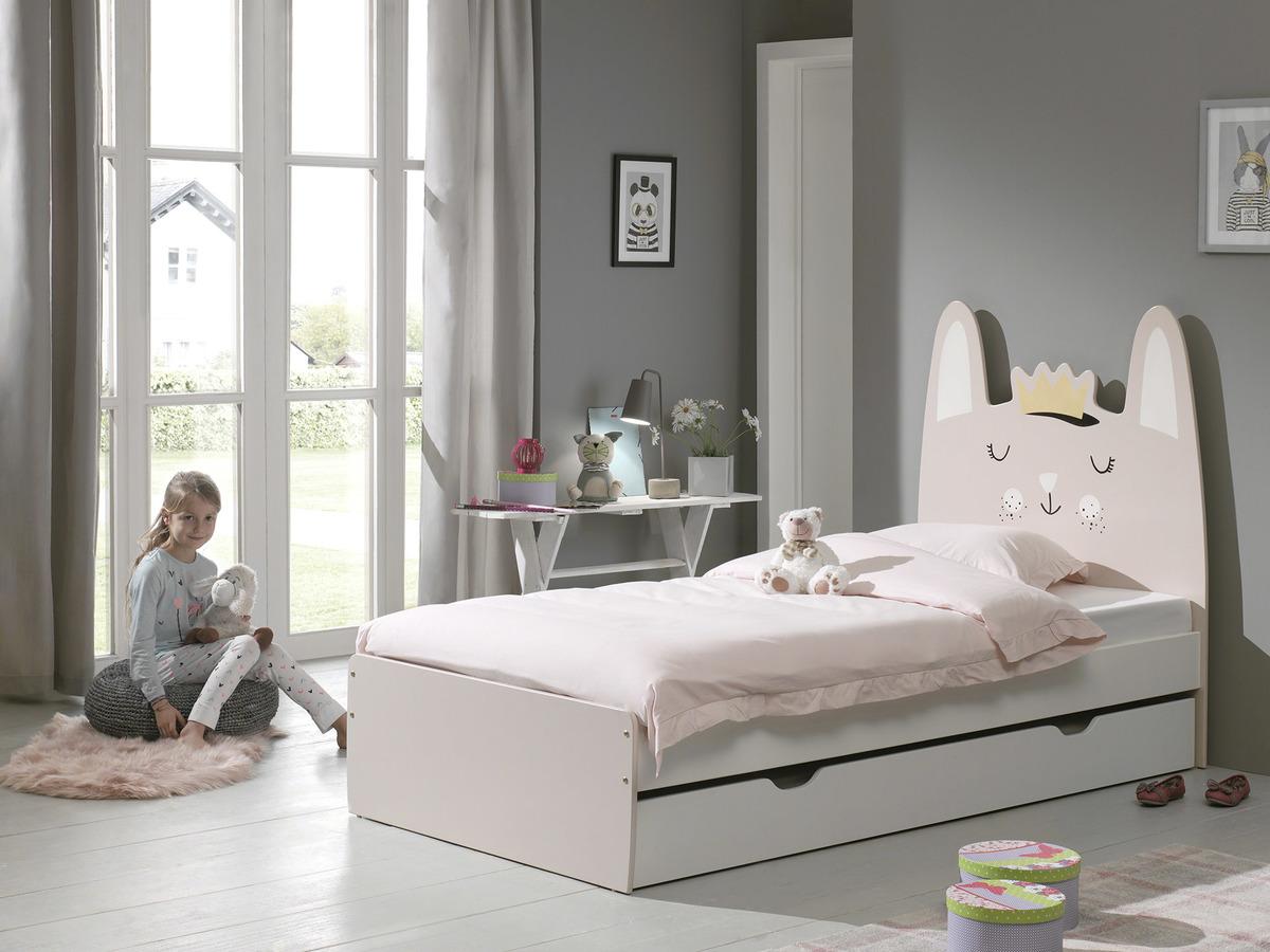 Detská posteľ Králik Rabbit posteľ bez úložného priestoru